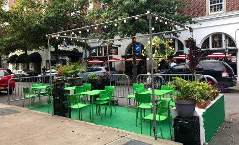 Troy NY PARK(ing) Day Photo
