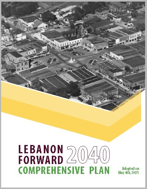 Lebanon 2040 Comprehensive Plan Cover Picture