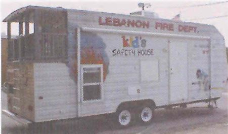 Lebanon Fire Department Kid's Safety House