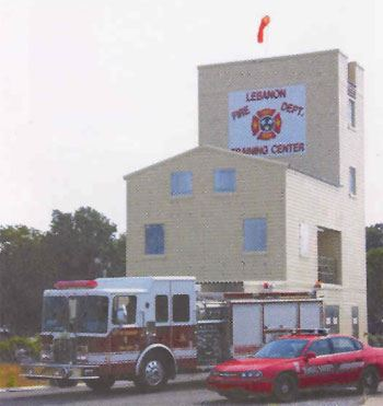 Lebanon Fire Department Training Center.