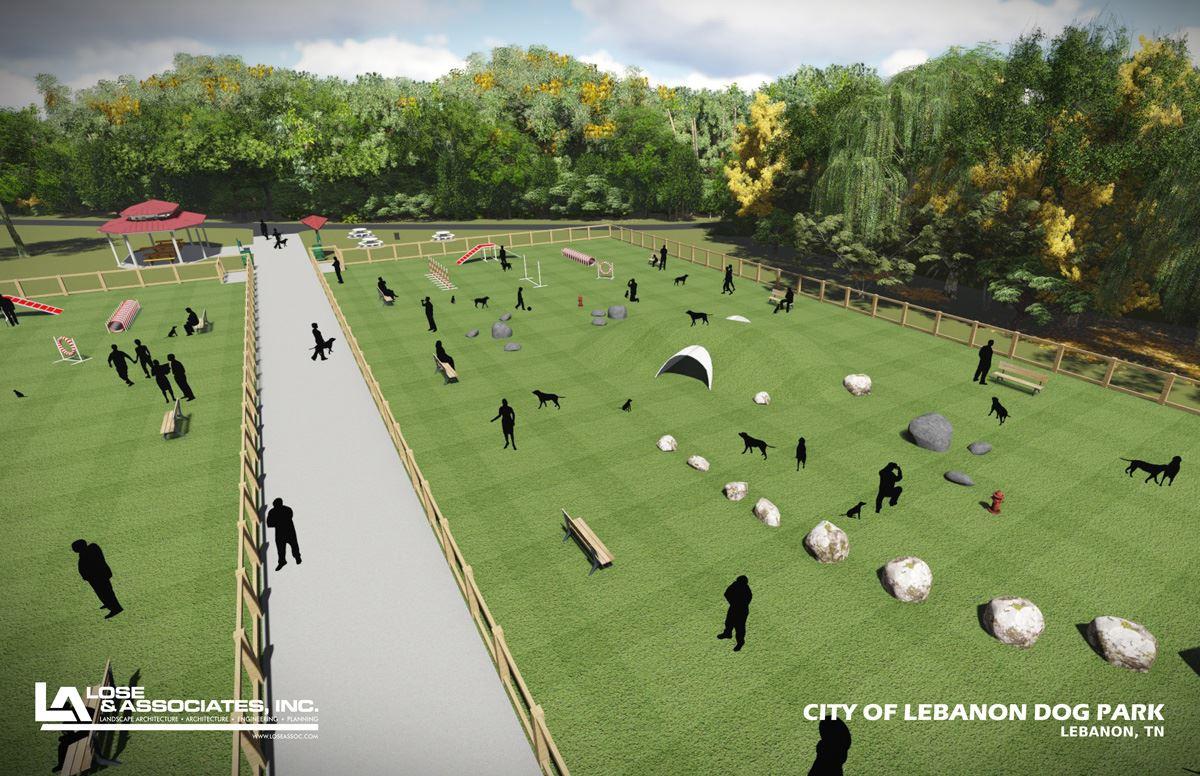 Dog Park In Lebanon